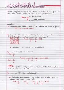 Biologia - Probabilidade