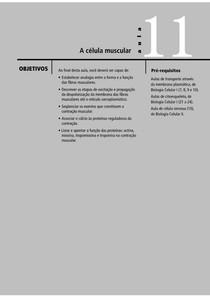 Aula 11 - A célula muscular