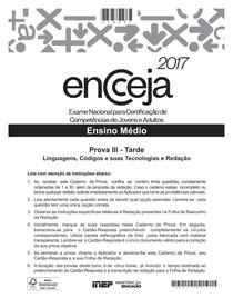 MEDIO_Linguagens ENCCEJA