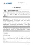Plano de ensino Química Geral - Universidade Salvador