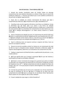 Lista teoria atômica IQG 114