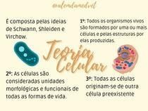 Teoria Celular - Biologia Celular