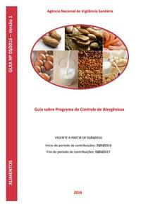Guia sobre Programa de Controle de Alergênicos