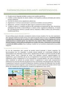 FARMACOLOGIA DOS ANTI- HIPERTENSIVOS