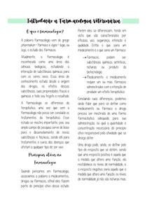 Introdução a Farmacologia Veterinária