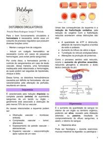 DISTÚRBIOS CIRCULATÓRIOS