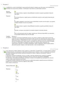 ADMINISTRAÇÃO DO VAREJO   QUESTIONÁRIO 1