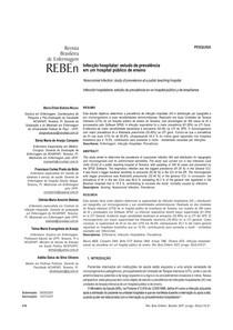 1 Infecção hospitalar     estudo de prevalência (1)