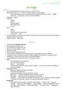 Microbiologia - Hepatite