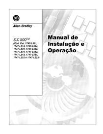 Manual  Instalação SLC500 PT