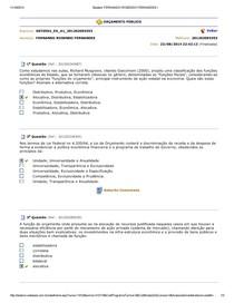 Orcamento Publico - Questoes aulas 1 a 10