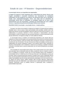 Estudo de caso - 4º bimestre - empreendedorismo