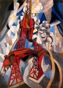 The red tower-Robert Delaunay