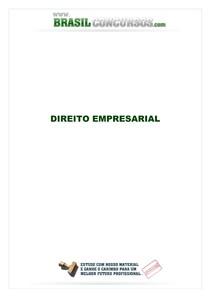 direito empresarial resumo completo