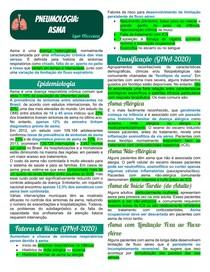 Pneumologia - Asma
