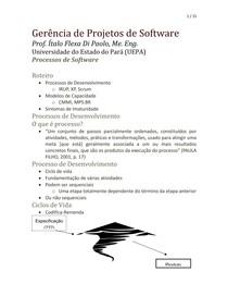 Aula 02 - Processos de software
