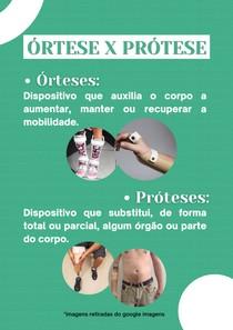 Prótese X Órtese