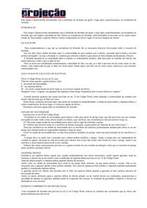 EXCLUDENTES DE ILICITUDE PENAL COMPLEMENTACAO