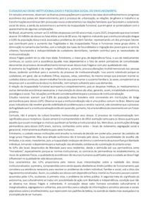 CUIDADOS AO IDOSO INSTITUCIONALIZADO E PSICOLOGIA SOCIAL DO ENVELHECIMENTO