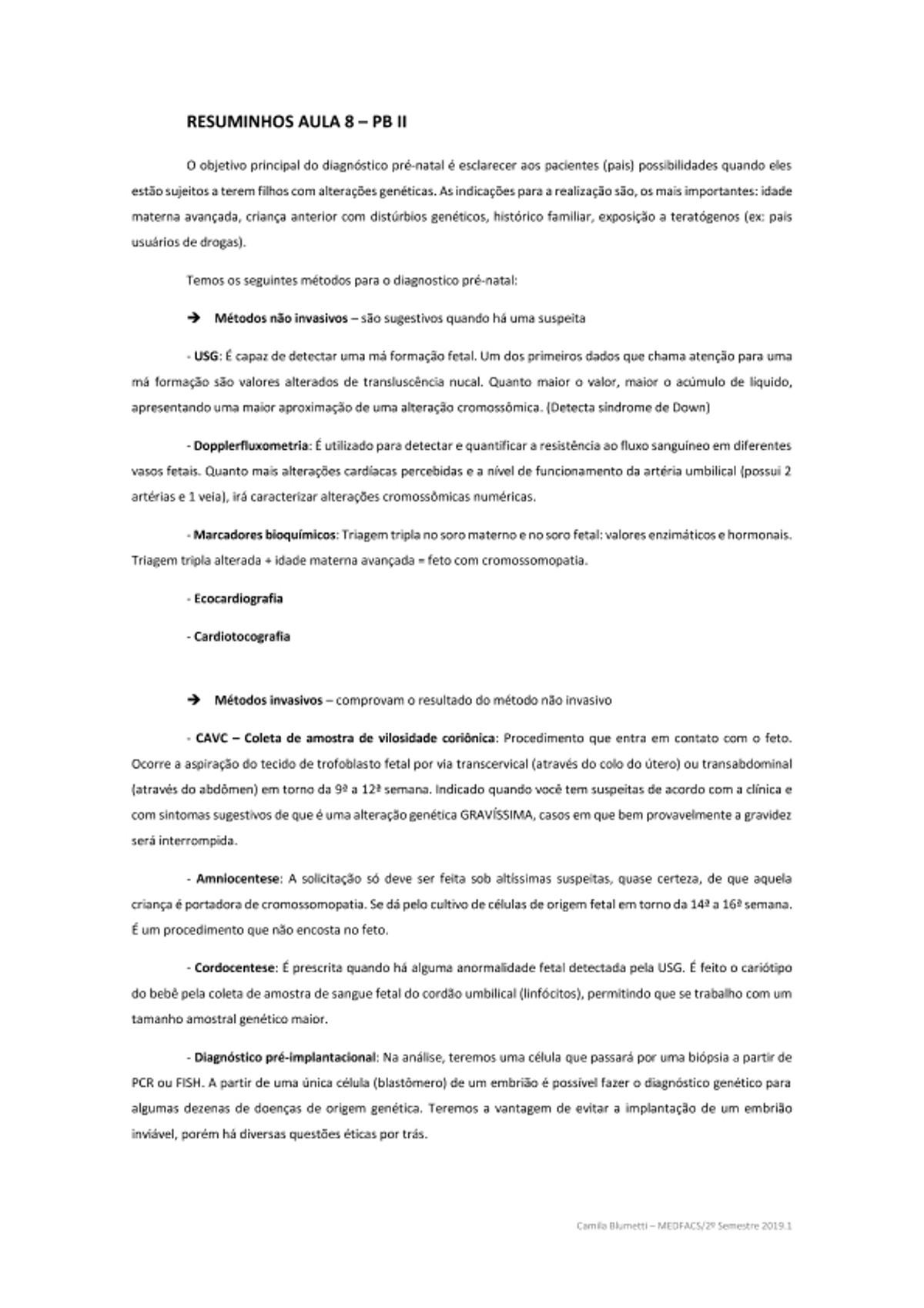 Pre-visualização do material Genética Médica - página 1