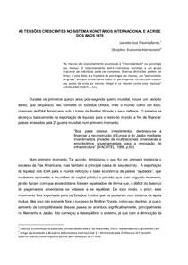 AUGE E DECLINIO