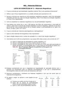 LISTA DE EXERCICIOS 3