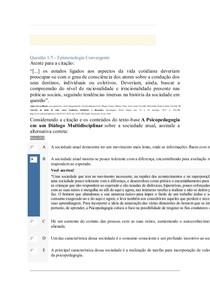 Apol 2 Epistemologia Convergente
