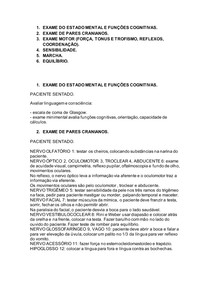 EXAME DE PARES CRANIANOS