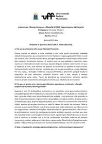 Política e Epistemologia em Platão