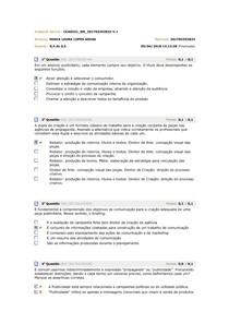 Avaliando o aprendizado 01a05 REDAÇÃO PUBLICITÁRIA