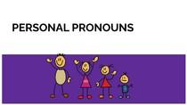 PERSONAL PRONOUNS( exemplos em frases)