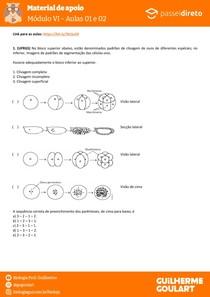 Módulo 6 - aula 01 02 - Introdução à Embriologia e Tipos de Ovos