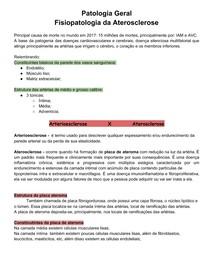 Fisiopatologia da Aterosclerose - PatG