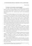 AS CONCEPÇÕES PEDAGÓGICAS NA HISTÓRIA DA EDUCAÇÃO BRASILEIRA