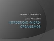 Aula 2   INTRODUÇÃO  MICRORGANISMOS