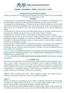 DJi - Declaração Universal dos Direitos Humanos