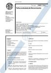 NBR 07581   1993   Telha Ondulada de Fibrocimento