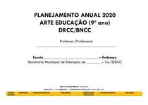 PLANEJAMENTO ANUAL DE ARTE 9º ANO