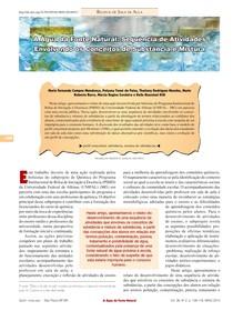 a água da fonte natural sequencia de atividades envolvendo os conceitos e substancia e mistura