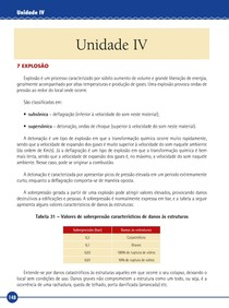 Prevenção e combate a incêndios e explosão - Livro-Texto Unidade IV