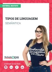 Semântica - Tipos de Linguagem - Profa Pamba
