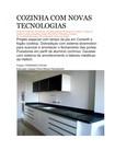 COZINHA COM NOVAS TECNOLOGIAS