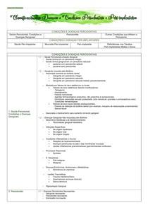 Nova Classificação das Doenças Periodontais