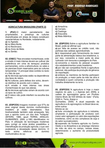 GEOBRASIL - AGRICULTURA BRASILEIRA (PARTE 2)