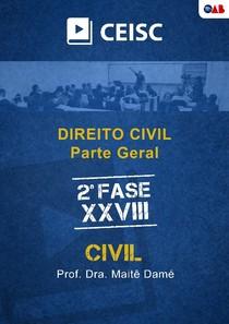 E-book OAB - Direito Civil - Parte Geral