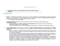 Direito Constitucional - resumo sistematizado aplicado introdutorio