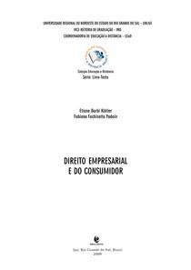 Apostila UNIJUÍ - Direito empresarial e do consumidor