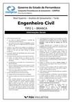 fgv 2014 compesa analista de saneamento engenheiro civil prova