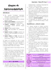 Reações de Hipersensibilidade 1 e 4 - Beatriz Almeida