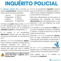 características do inquerito policial